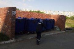 Агалакова-66-уборка-контейнерной-площадки